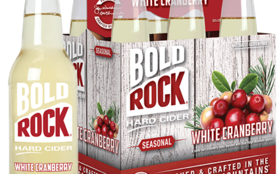 BOLD ROCK HARD CIDER ANNOUNCES RELEASE OF WHITE CRANBERRY FALL SEASONAL